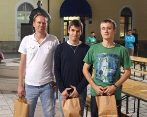 Manuel Oljača, Mario Muškardin i Ivan Volarić / foto: B. Purić