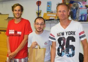 Tobias Berger, Domagoj Glažar i Manuel Oljača / foto: B. Purić