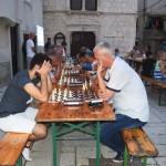 Za prvim stolom Salković - Tomić (foto: B. Purić)